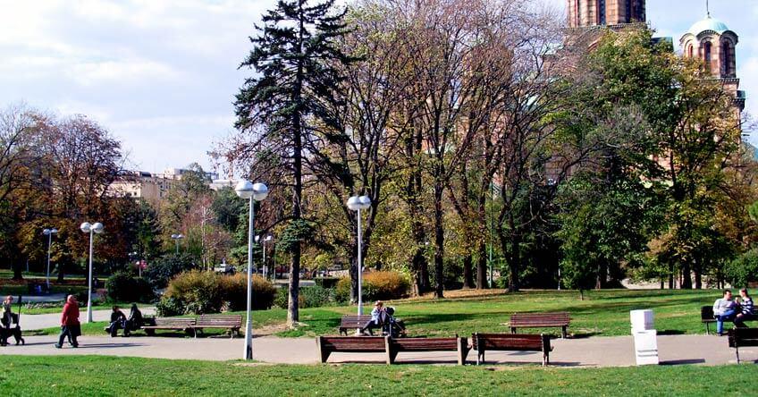 tašmajdanski park beograd