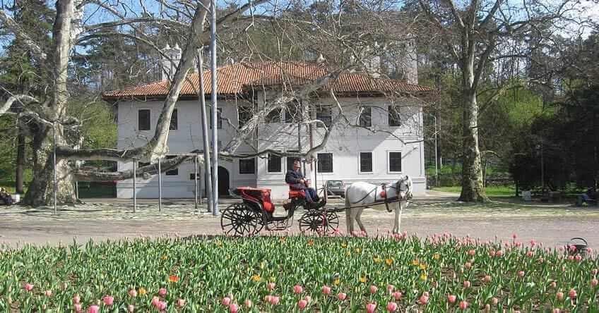 Topčiderski park i kočije