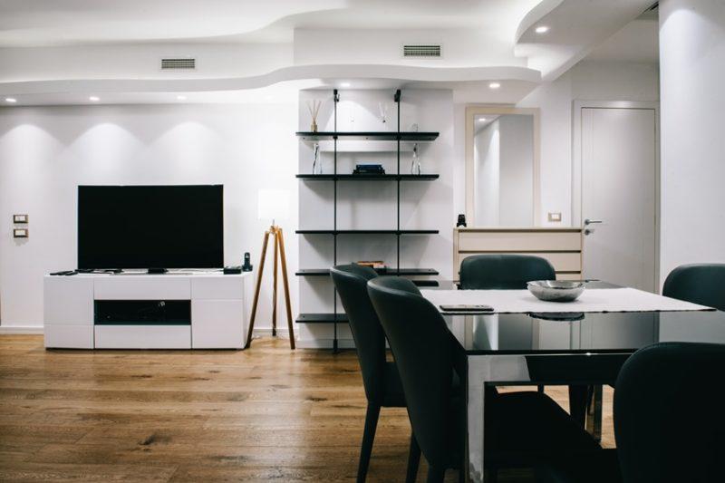 Apartman Budim dnevna soba i trpezarija