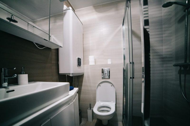 Apartman Budim malo kupatilo