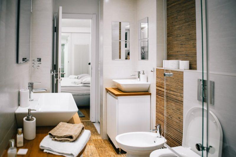 Apartman Budim veliko kupatilo