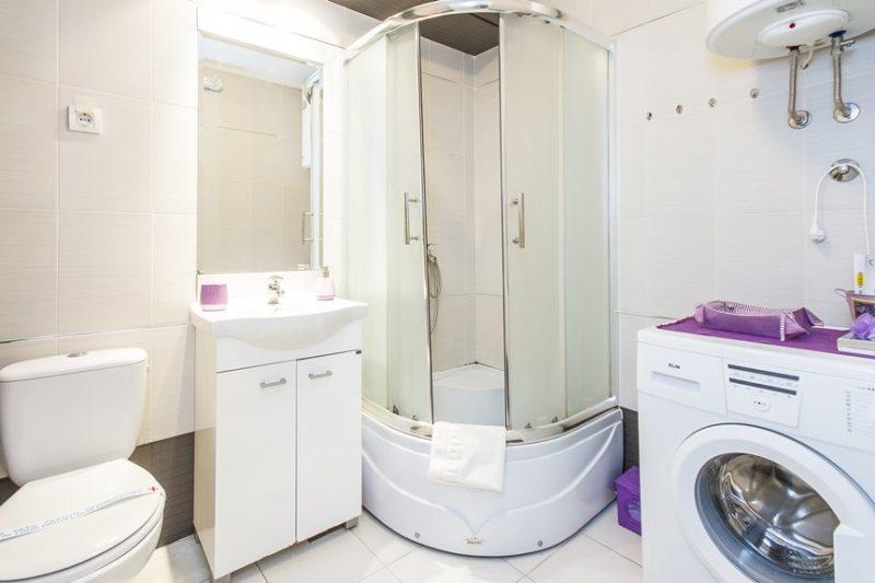 Apartman Nikmar kupatilo