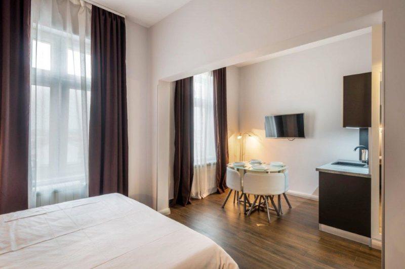 Passion Design apartman trpezarija i krevet