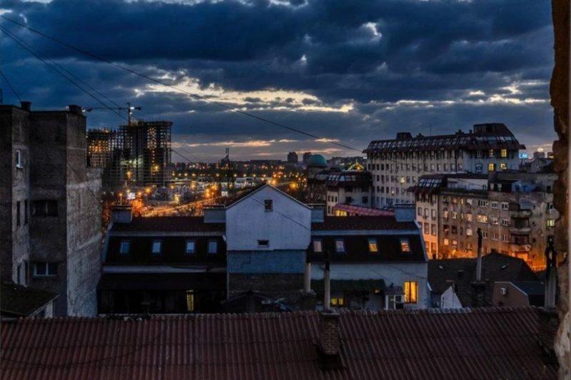 Passion design apartman pogled na grad