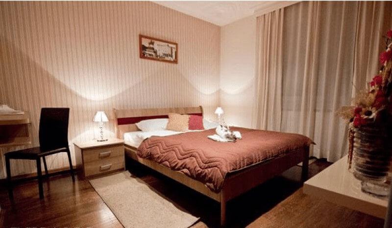 Spavaća soba 5th floor apartman u Beogradu