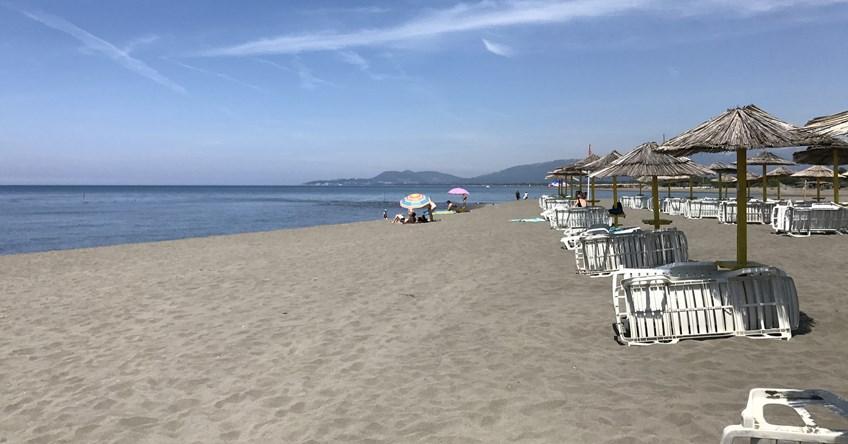 plaža na Adi Bojani