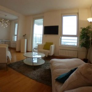 dnevna soba u belvil 1 apartmanu