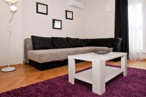 dnevna soba u apartmanu Square