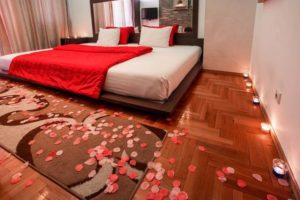 spavaća soba u apartmanu